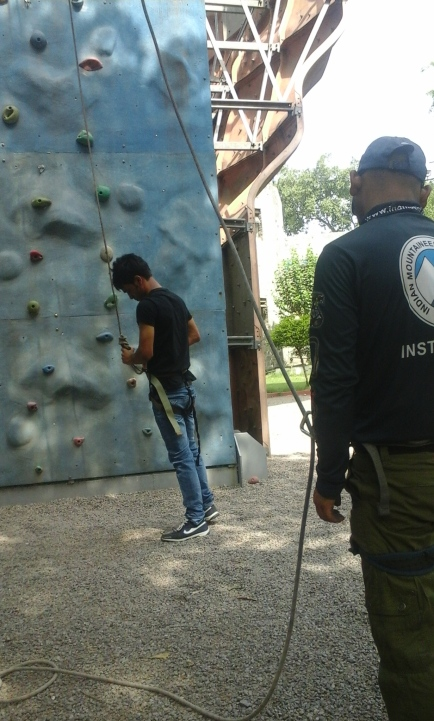 Artificial Wall Climbing, New Delhi